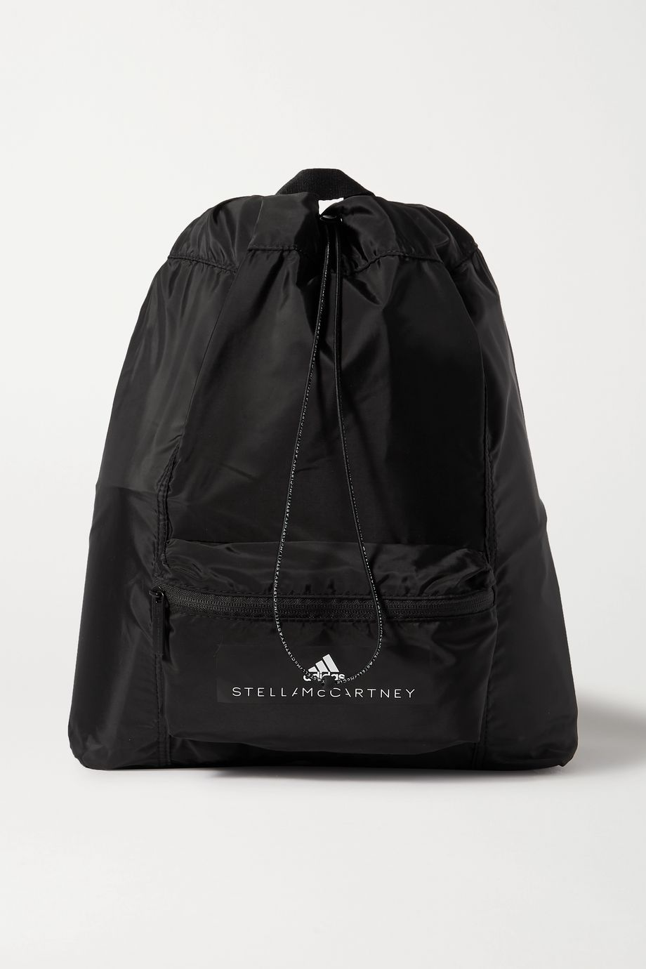 adidas by Stella McCartney Convertible appliquéd shell backpack