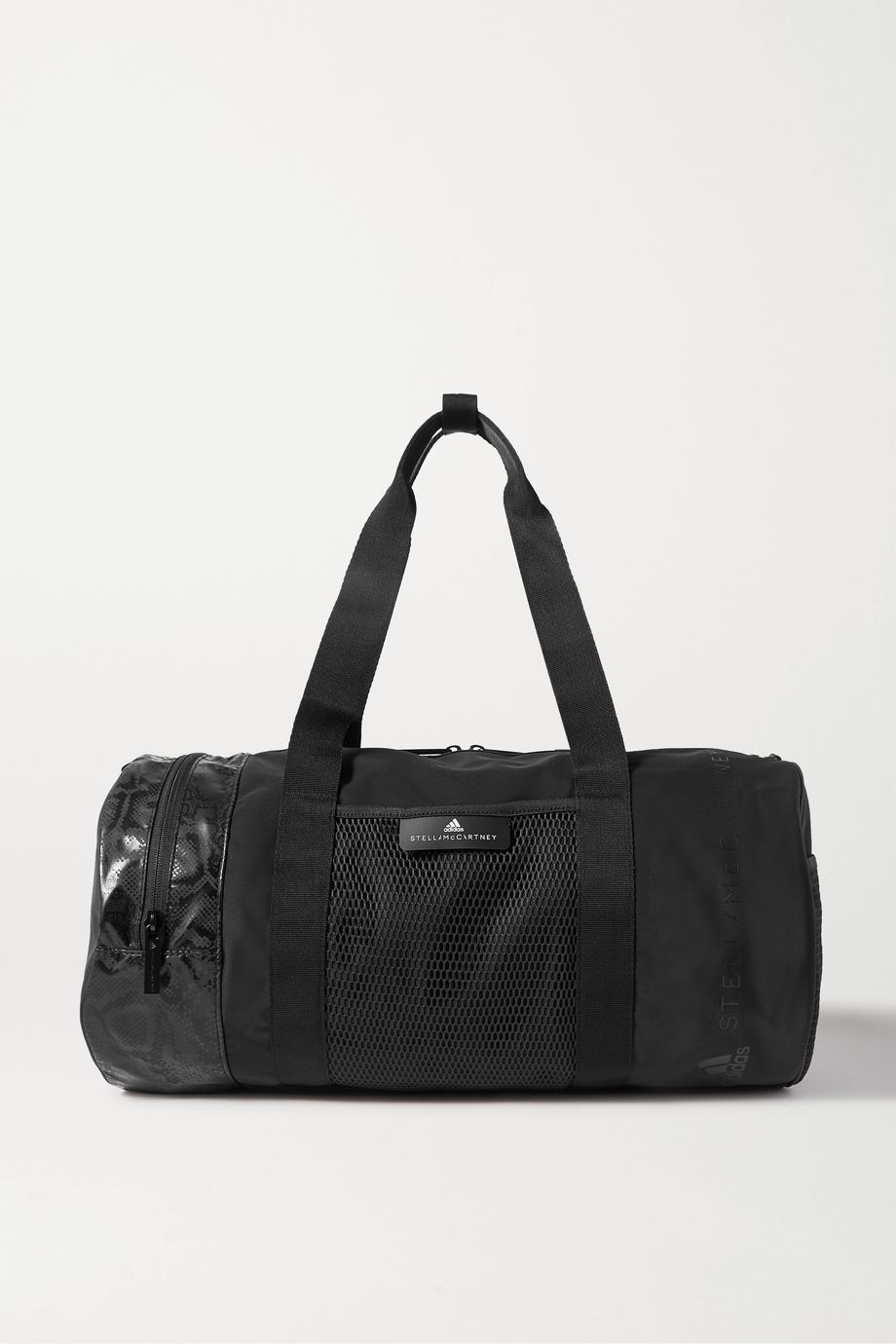 adidas by Stella McCartney Shell and mesh duffel bag