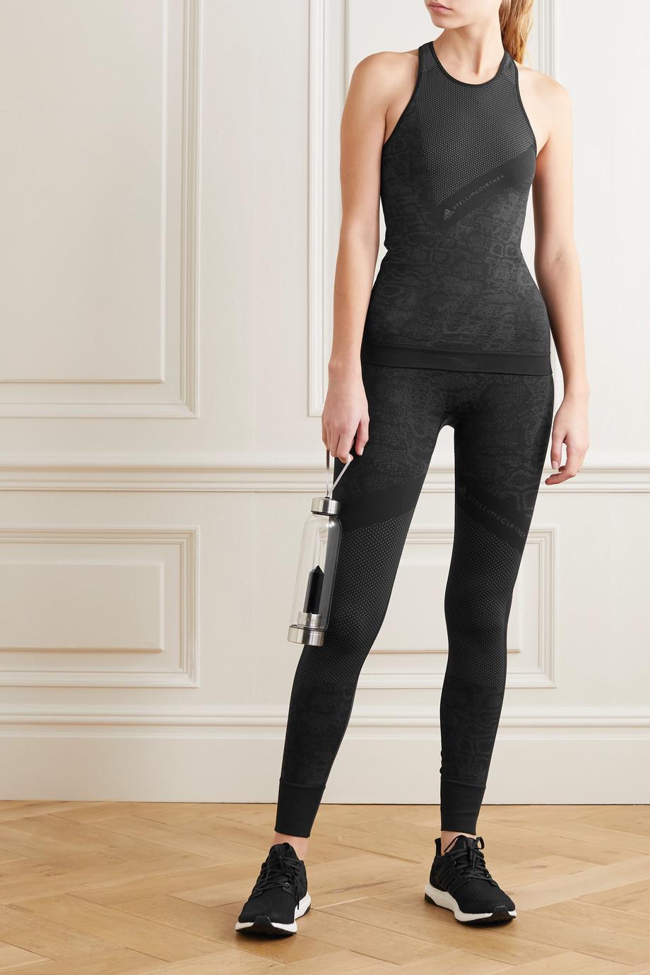 adidas by Stella McCartney Essentials stretch-jacquard tank