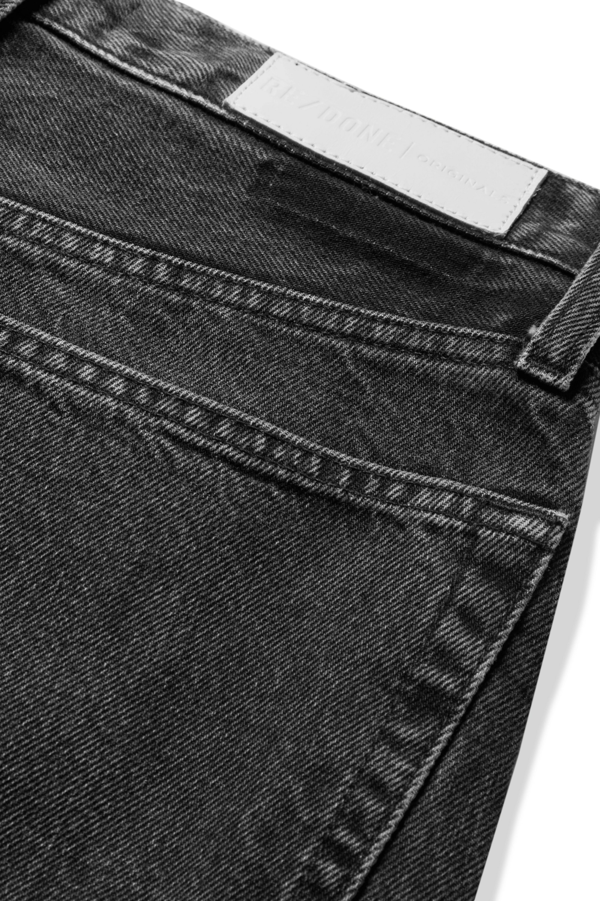 RE/DONE Originals Stove Pipe cropped high-rise straight-leg jeans