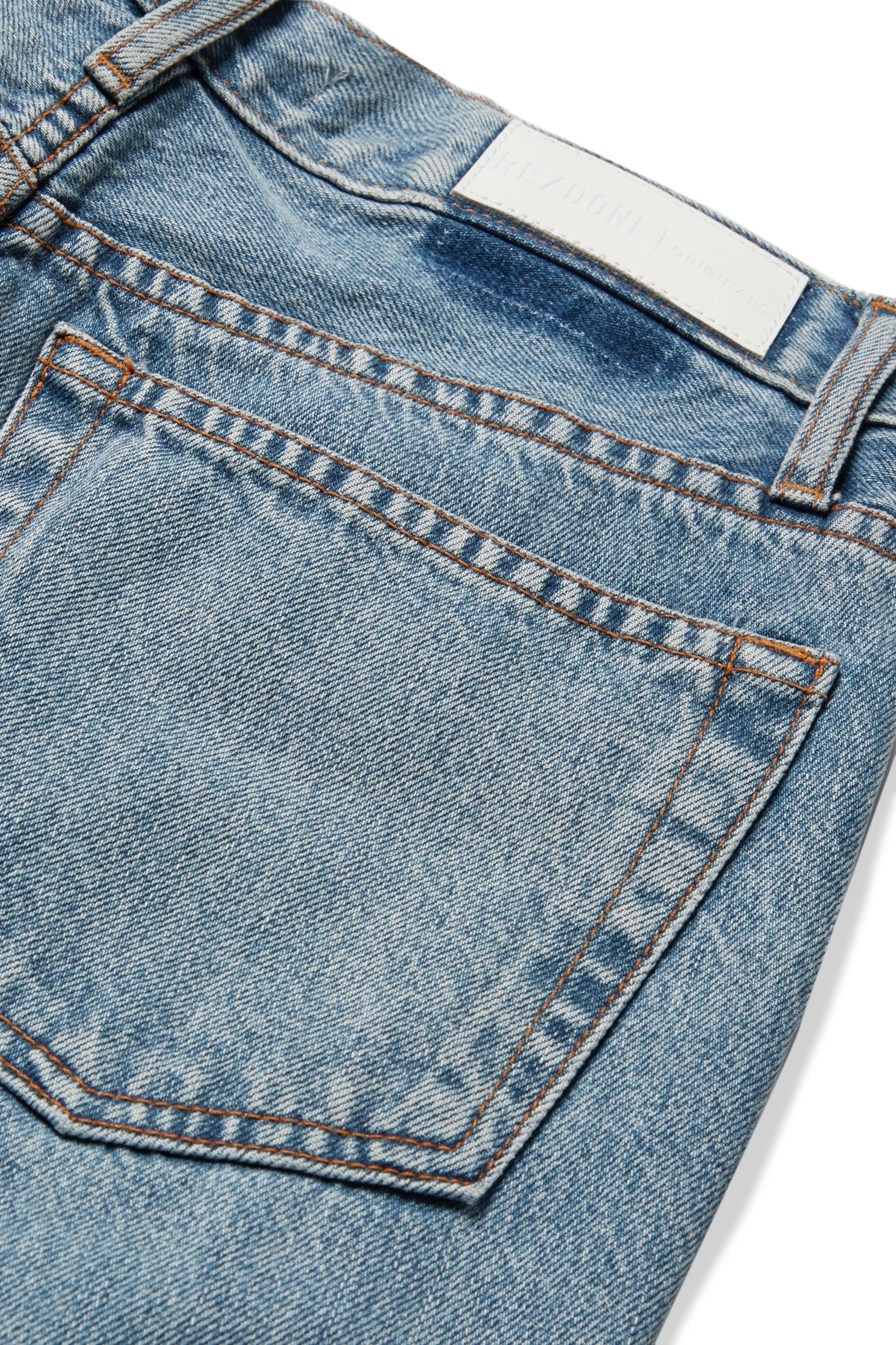 RE/DONE '90s Relaxed Long high-rise straight-leg jeans