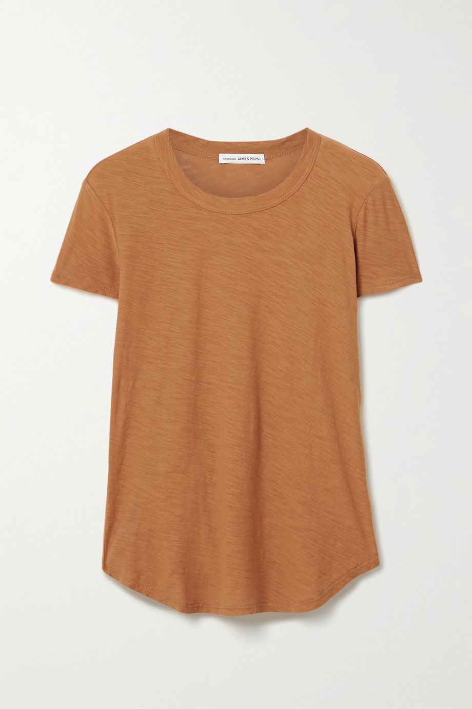 James Perse T-shirt en jersey de coton flammé