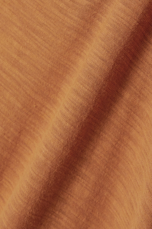 James Perse Slub cotton-jersey top