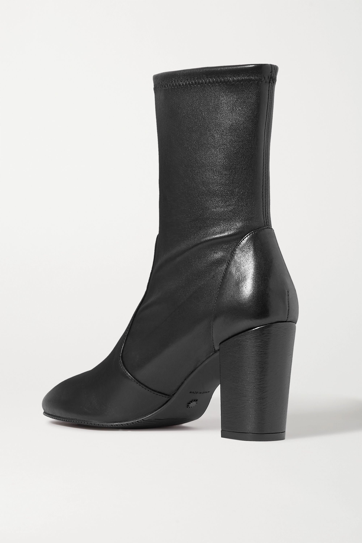 Stuart Weitzman Yuliana leather sock boots