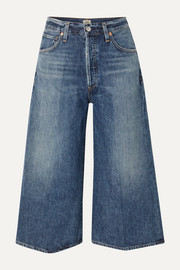 Citizens of Humanity Emily cropped high-rise wide-leg jeans