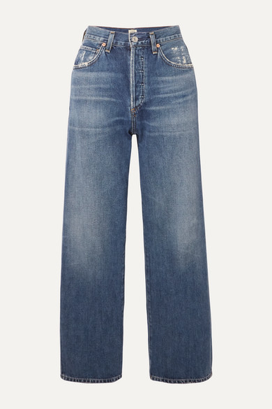 Citizens Of Humanity Jeans JOANNA CROPPED MID-RISE STRAIGHT-LEG JEANS