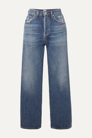 Citizens of Humanity Joanna cropped mid-rise straight-leg jeans