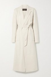 Noran belted cashmere coat