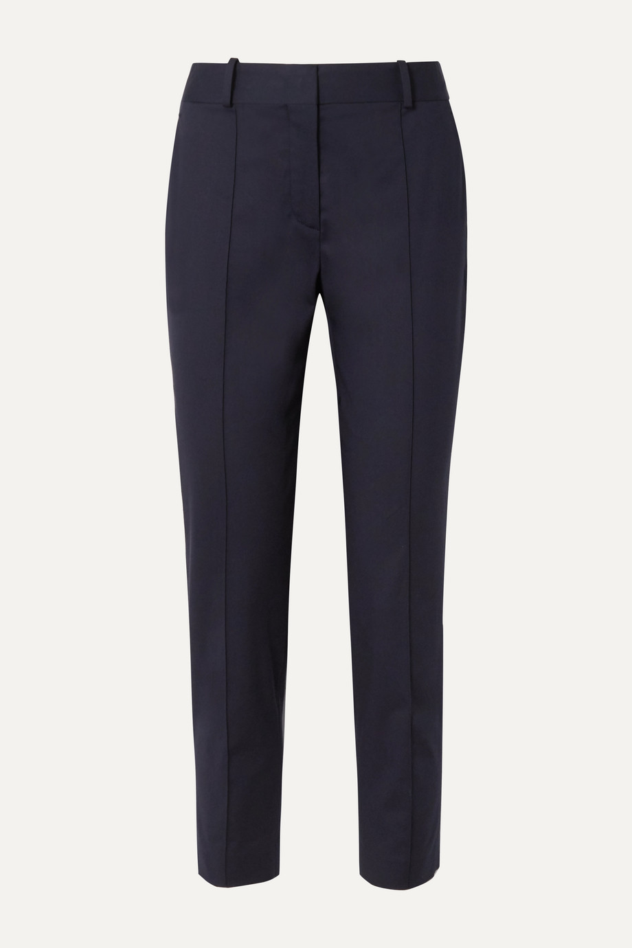 Loro Piana Stretch-cotton twill straight-leg pants