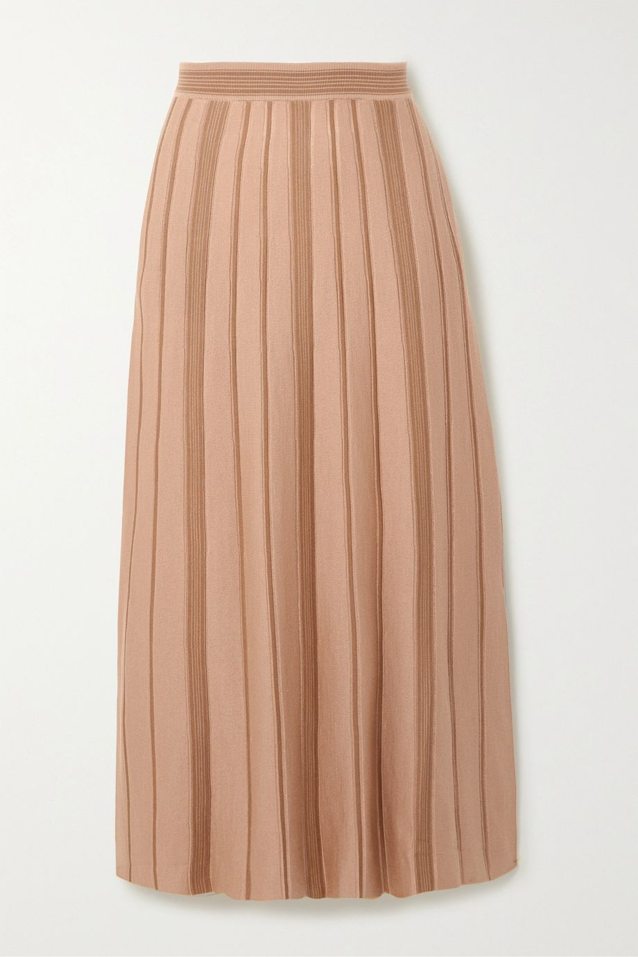 Loro Piana Essaouira cashmere and silk-blend midi skirt
