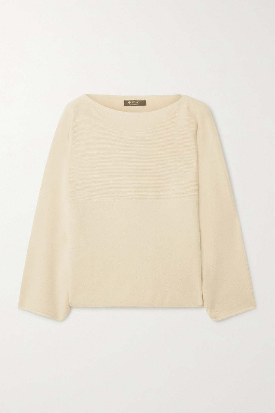 Loro Piana Cubetto Canary cashmere sweater