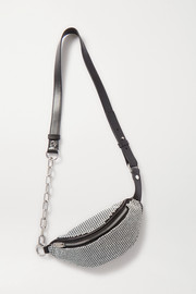 Alexander Wang Attica mini crystal-embellished leather belt bag