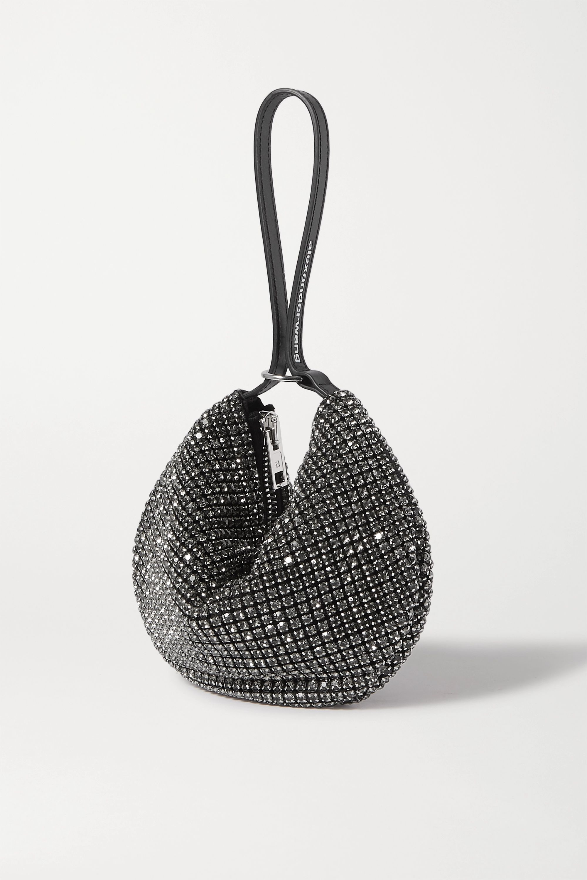 Alexander Wang Wangloc Fortune Cookie crystal-embellished leather tote
