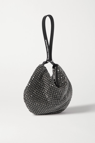 Wangloc Fortune Cookie Crystal Embellished Leather Tote by Alexander Wang