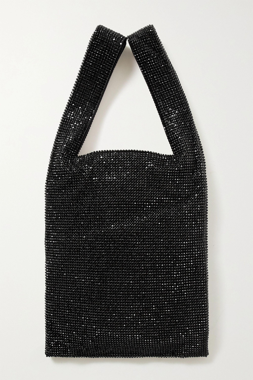 Alexander Wang Wangloc mini crystal-embellished mesh tote