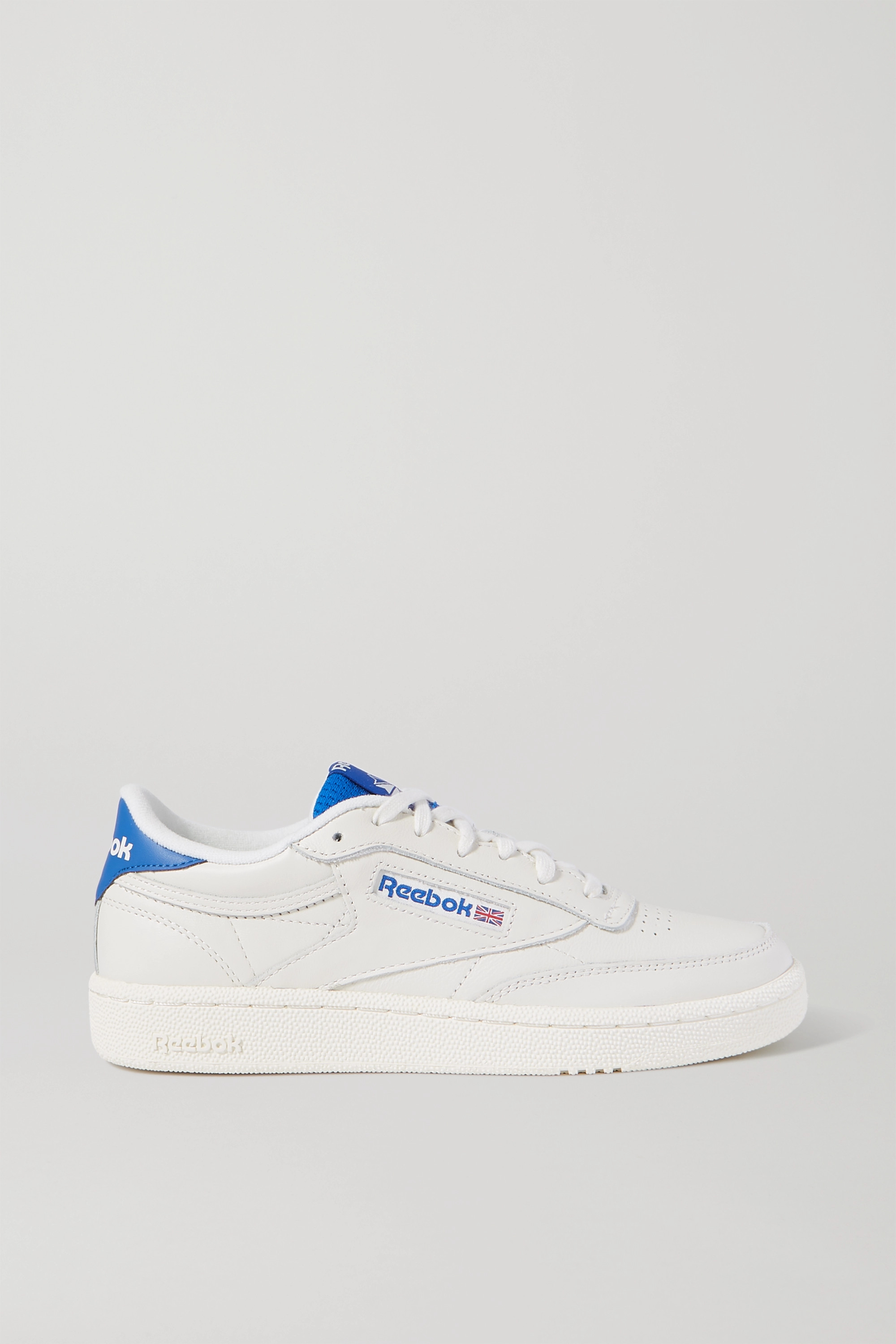 Off-white Club C 85 two-tone leather