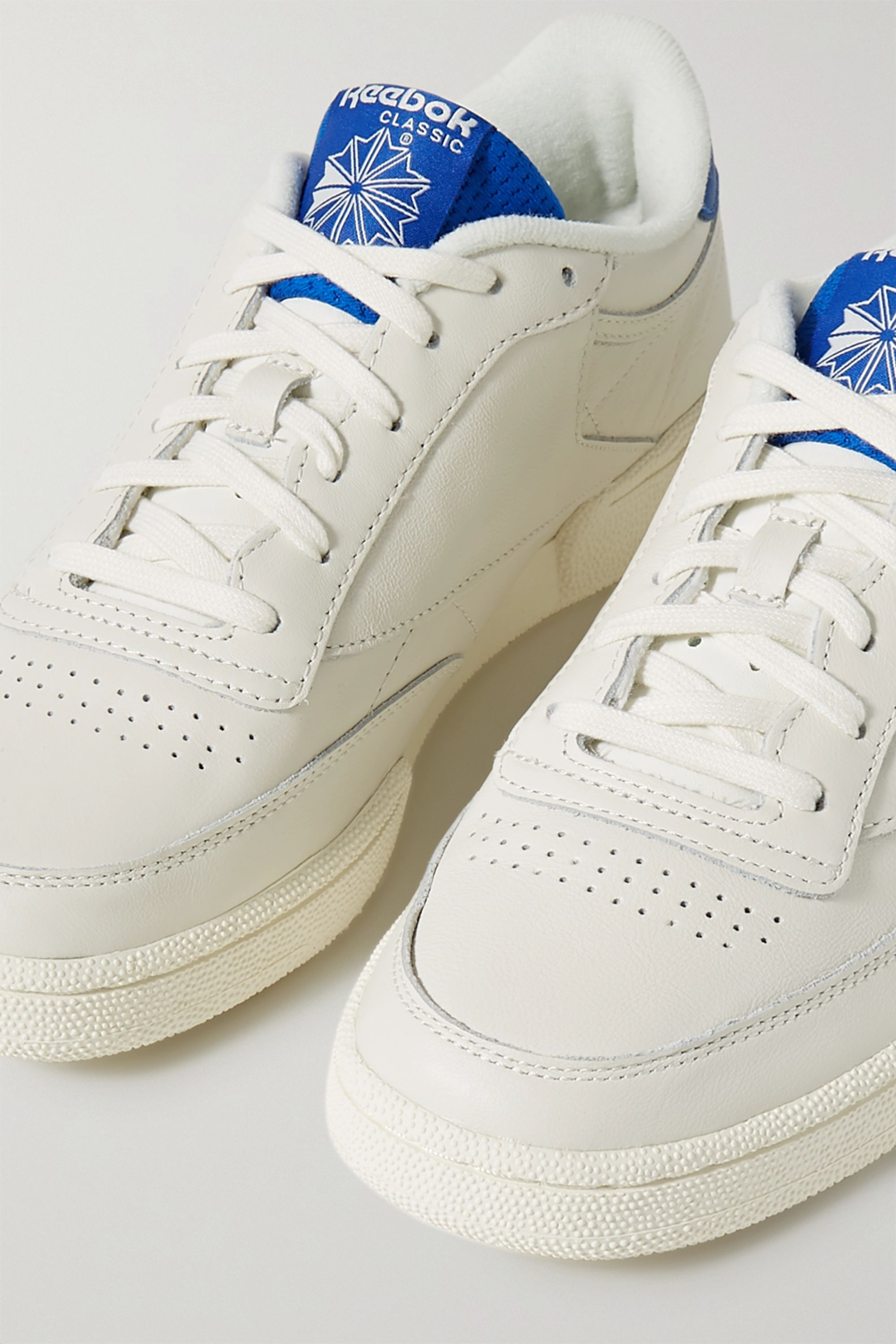 Reebok Club C leather and mesh sneakers