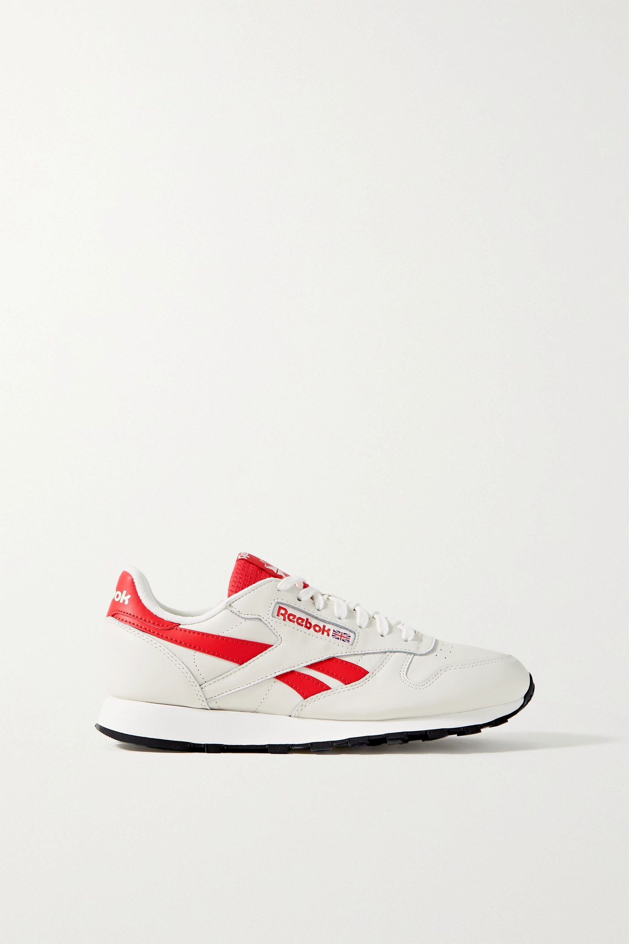 Off-white Classic leather and mesh