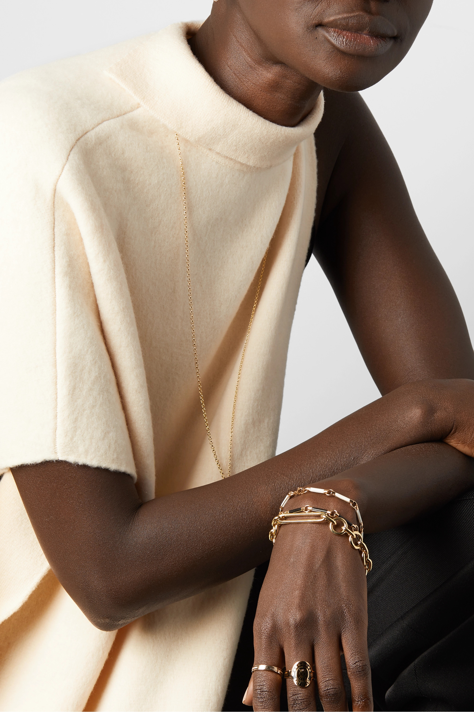 Foundrae 18-karat gold bracelet