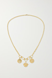 Passion, Karma and Dream 18-karat gold diamond necklace