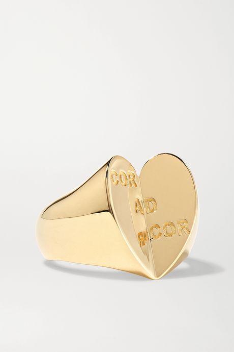 Gold 18-karat gold ring   Foundrae IVaRpH