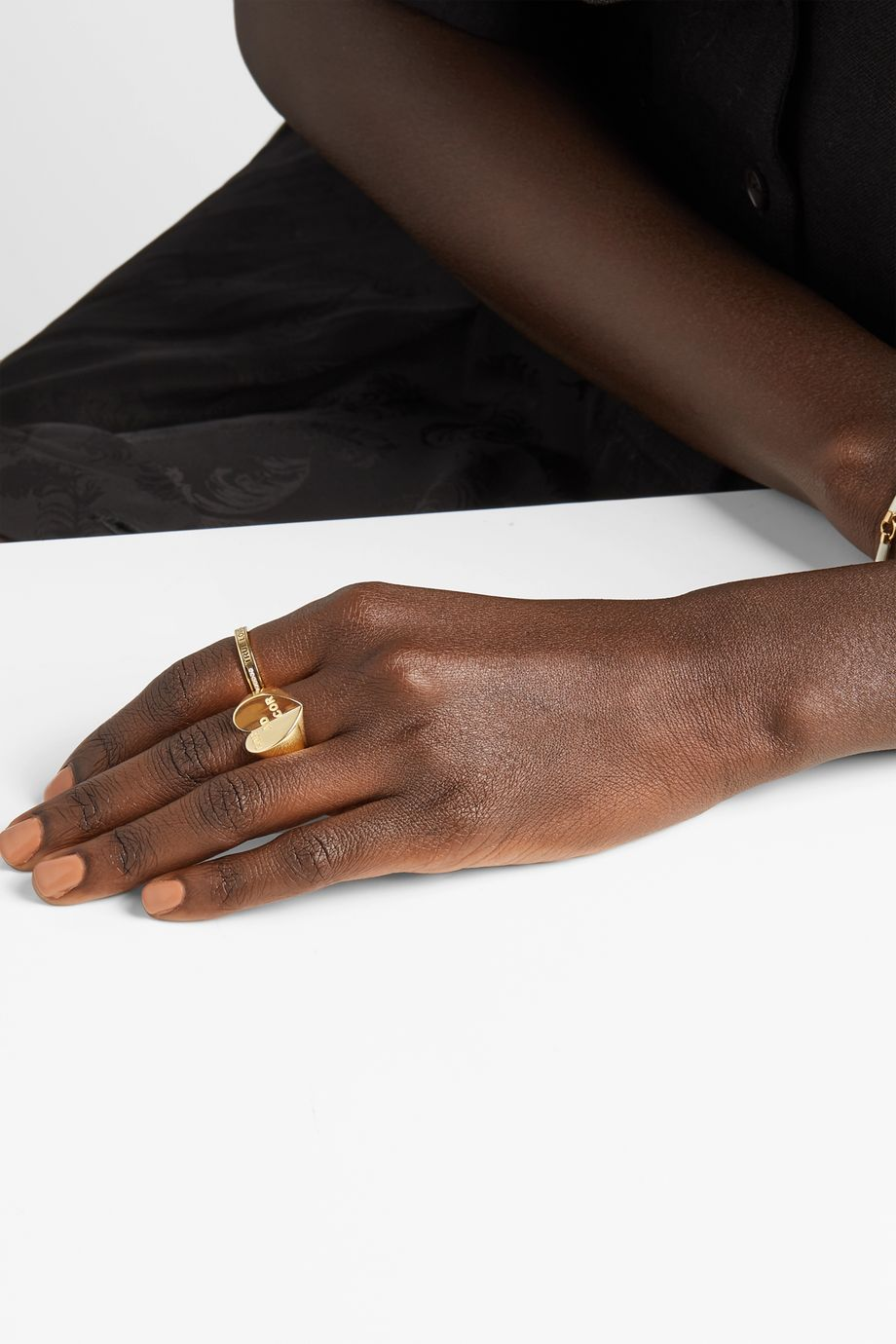 Foundrae 18-karat gold ring