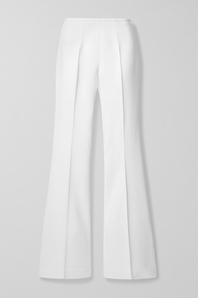 Stretch Crepe Flared Pants by Michael Kors Collection