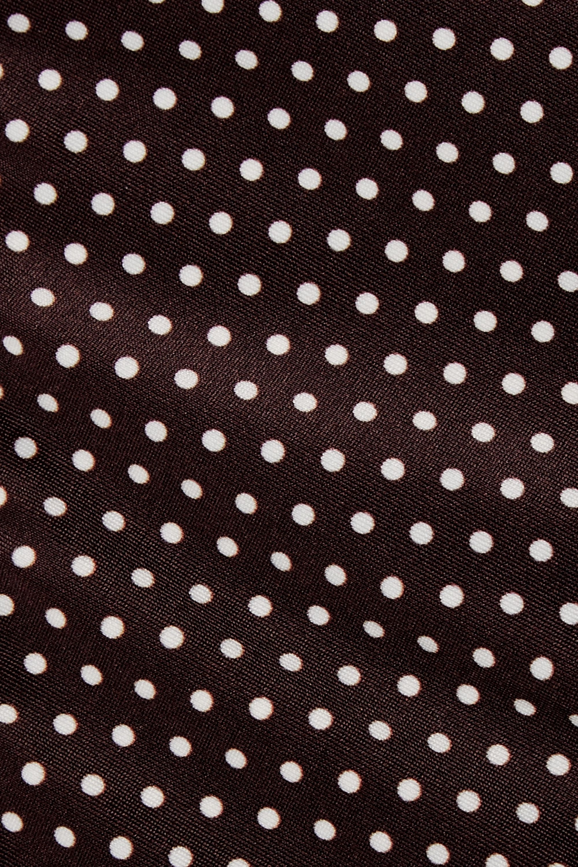 Peony + NET SUSTAIN polka-dot bikini briefs