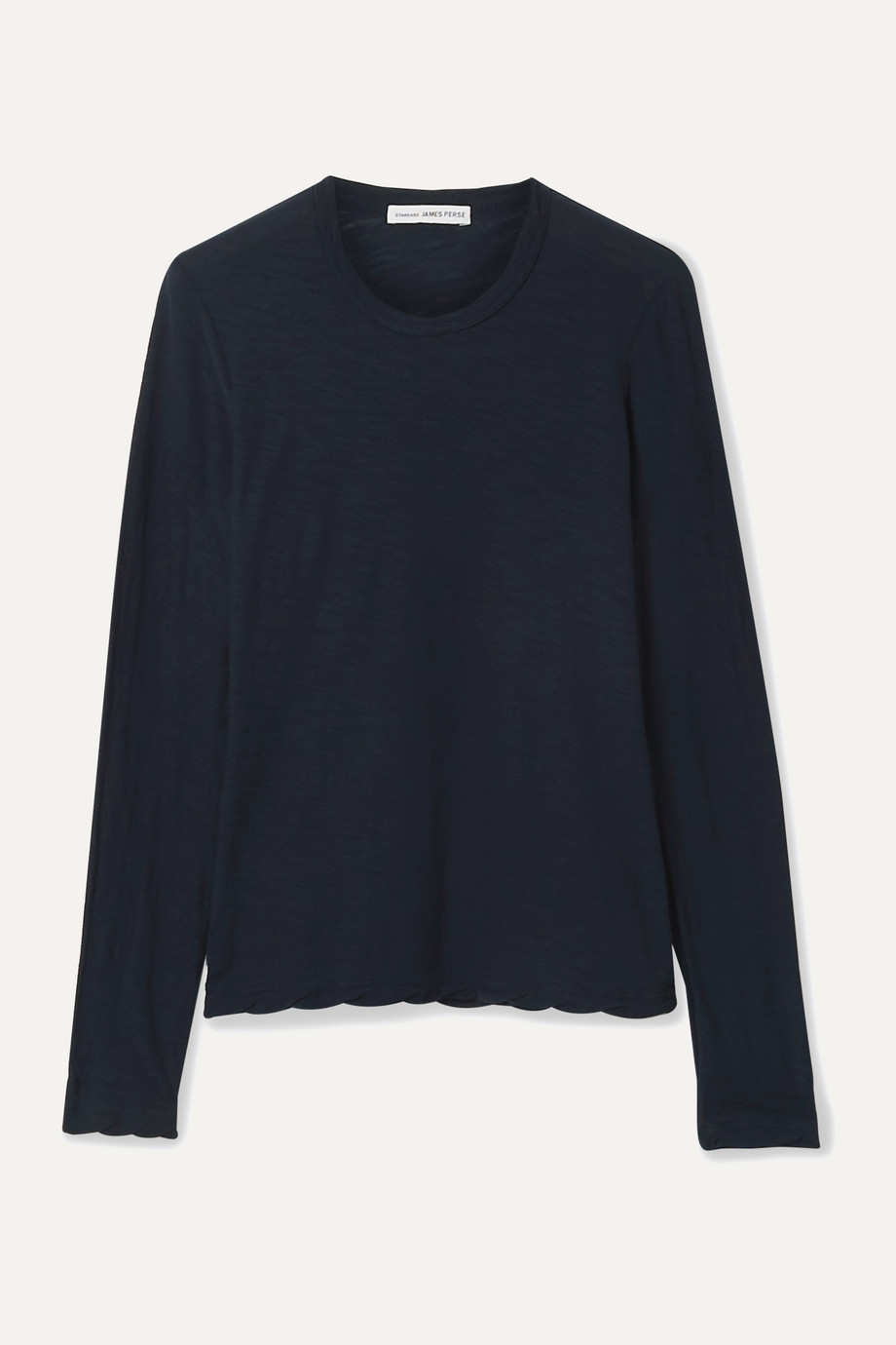 James Perse Slub Supima cotton-jersey top