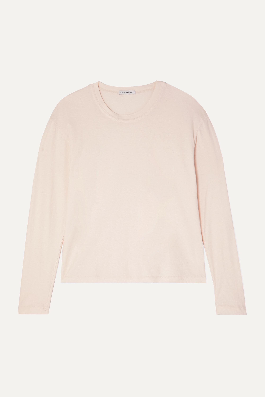 James Perse Vintage cotton-jersey top