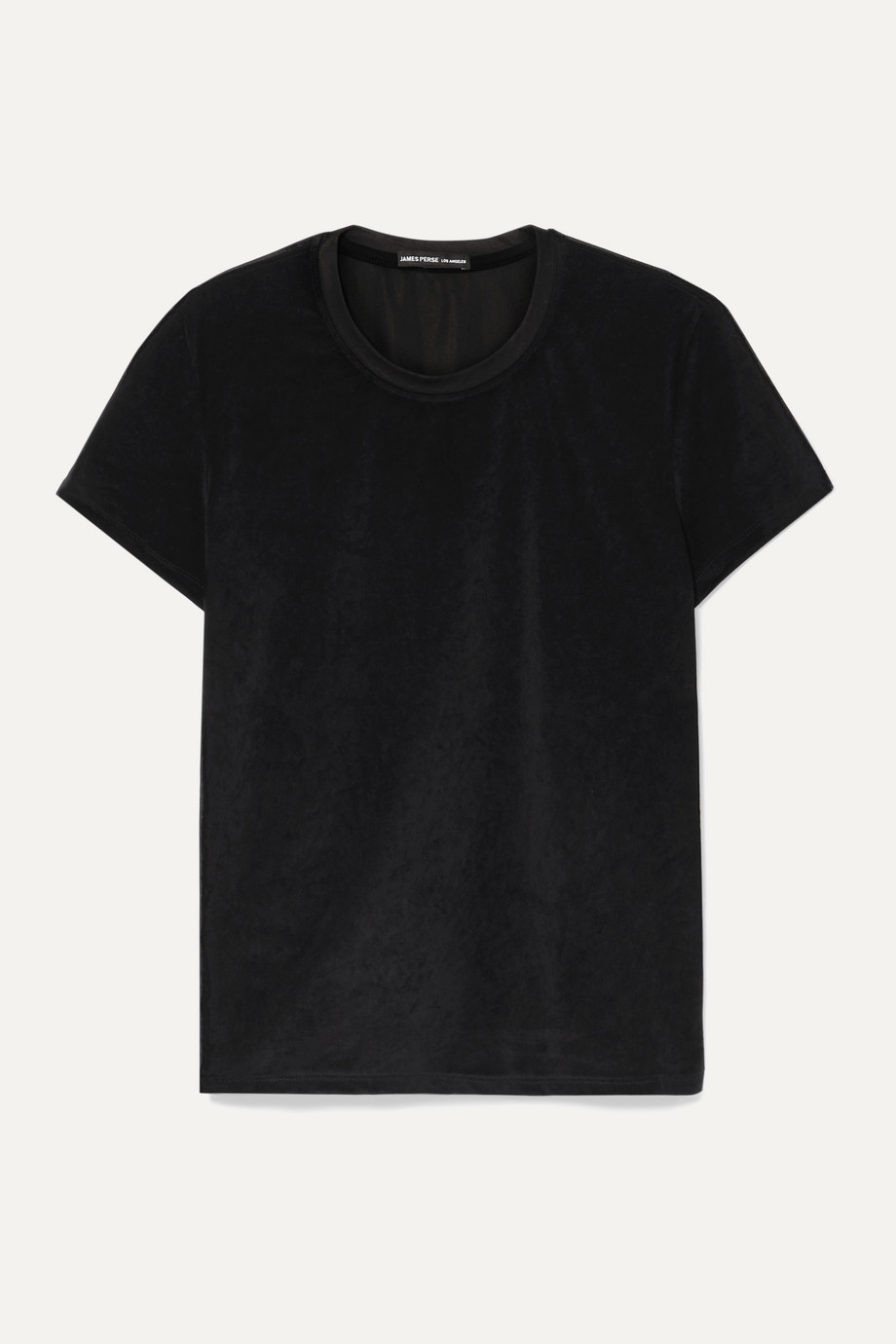 James Perse Stretch-velvet T-shirt