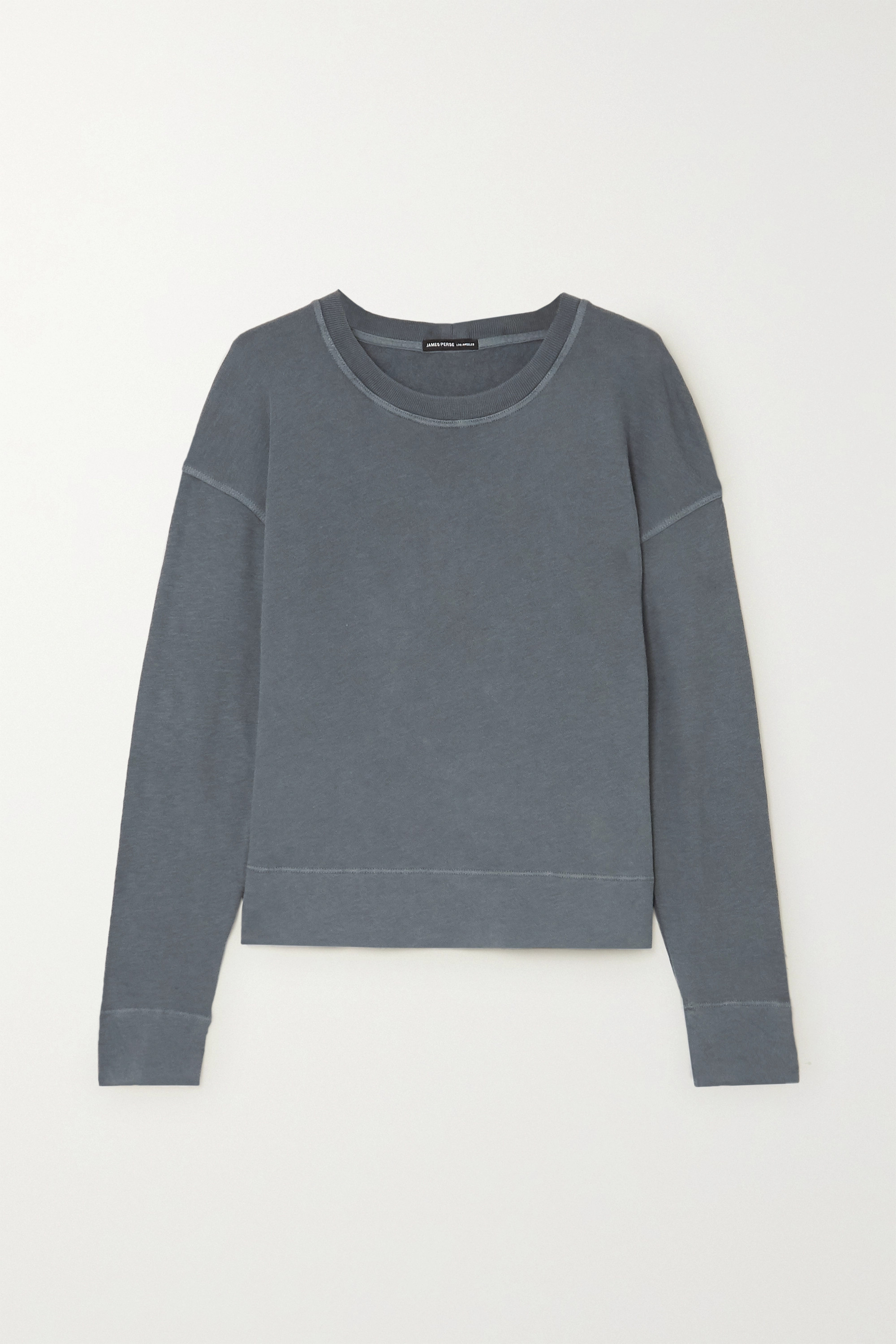 James Perse Supima cotton-terry top