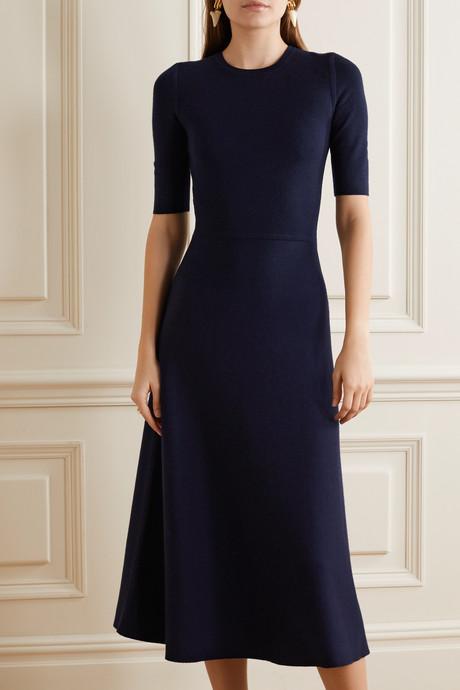 Seymore wool and cashmere-blend midi dress