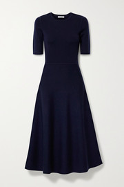 Seymore wool and cashmere-blend midi dress