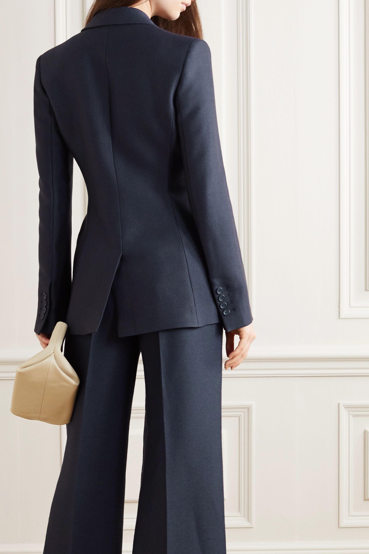 Gabriela Hearst Grant tie-front wool and silk-blend blazer