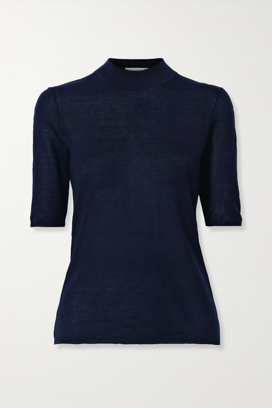 Gabriela Hearst Hugo cashmere and silk-blend top