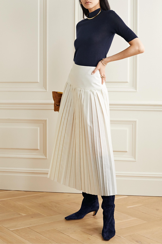 Gabriela Hearst Hugo cashmere and silk-blend top