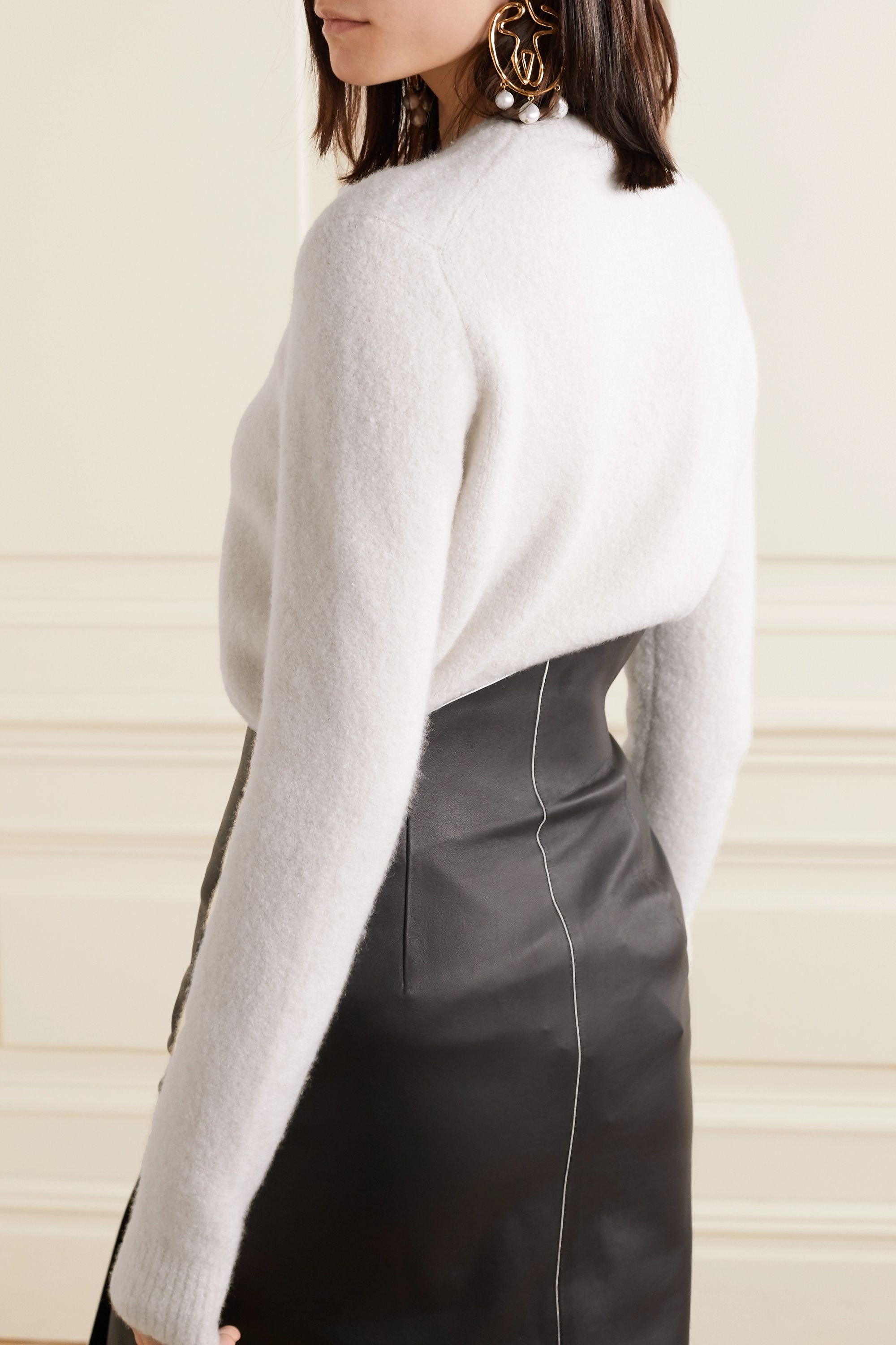 Gabriela Hearst Chester cashmere and silk-blend sweater