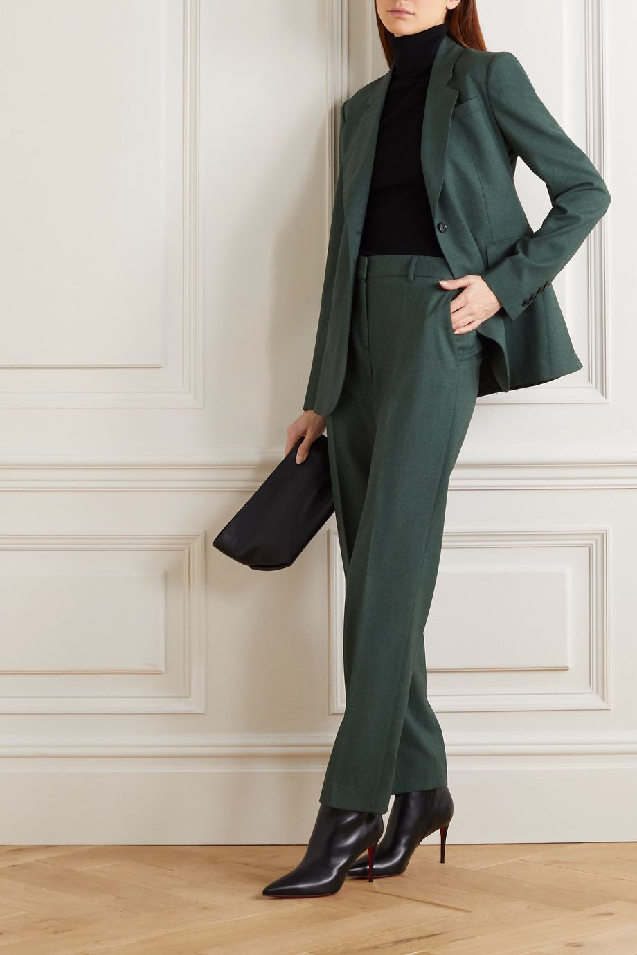 Gabriela Hearst Francisco wool tapered pants