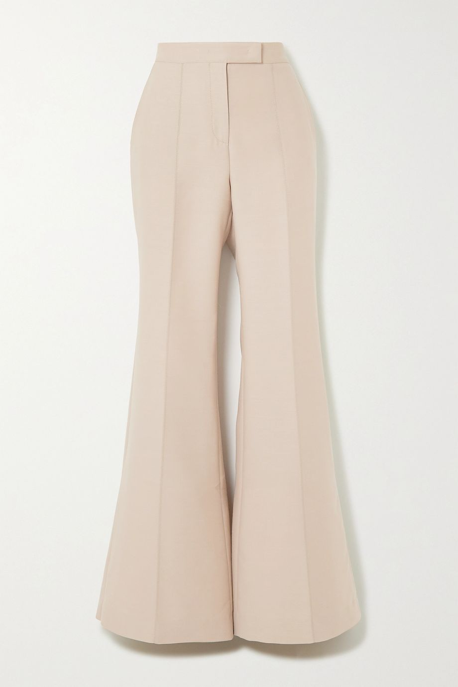 Gabriela Hearst Leda wool and silk-blend wide-leg pants