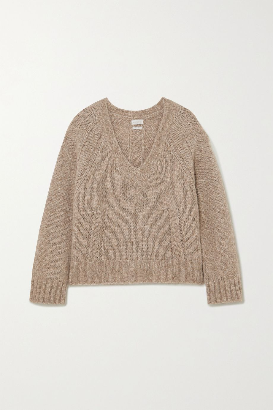 By Malene Birger + NET SUSTAIN Evanna alpaca-blend sweater