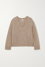 + NET SUSTAIN Evanna alpaca-blend sweater