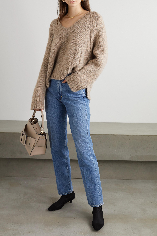 By Malene Birger + NET SUSTAIN Evanna alpaca-blend sweater