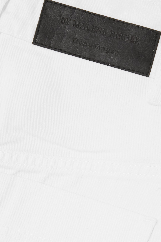 By Malene Birger Mini-jupe en jean biologique effilé Akania