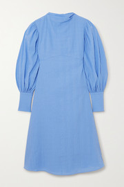 By Malene Birger + NET SUSTAIN Fleroya crinkled-organic cotton dress