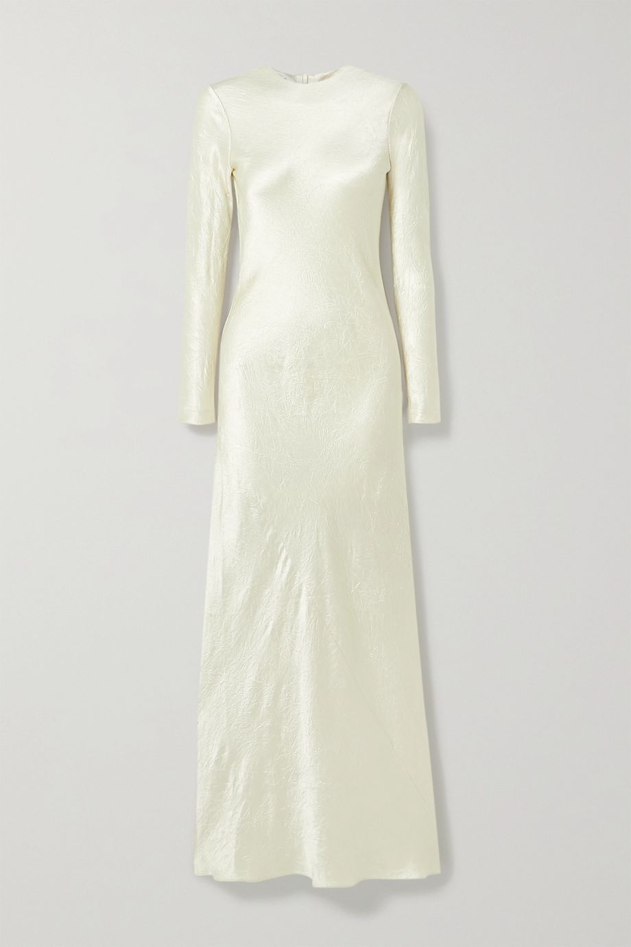 Co Crinkled-satin maxi dress