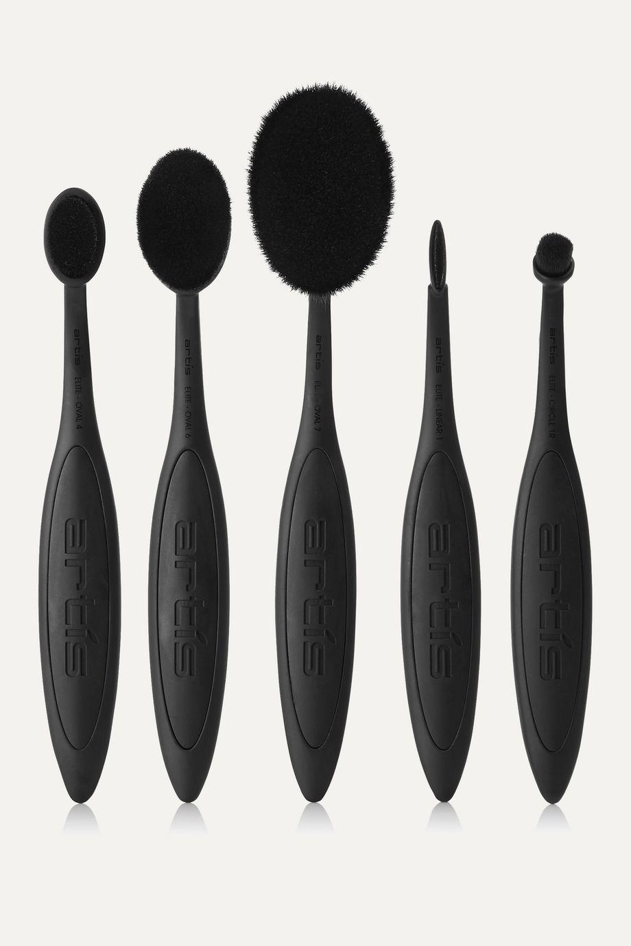 Artis Brush Elite Black 5 Brush Set