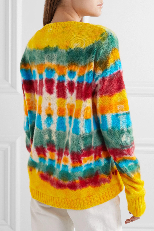 The Elder Statesman Wild Card tie-dyed cashmere sweater