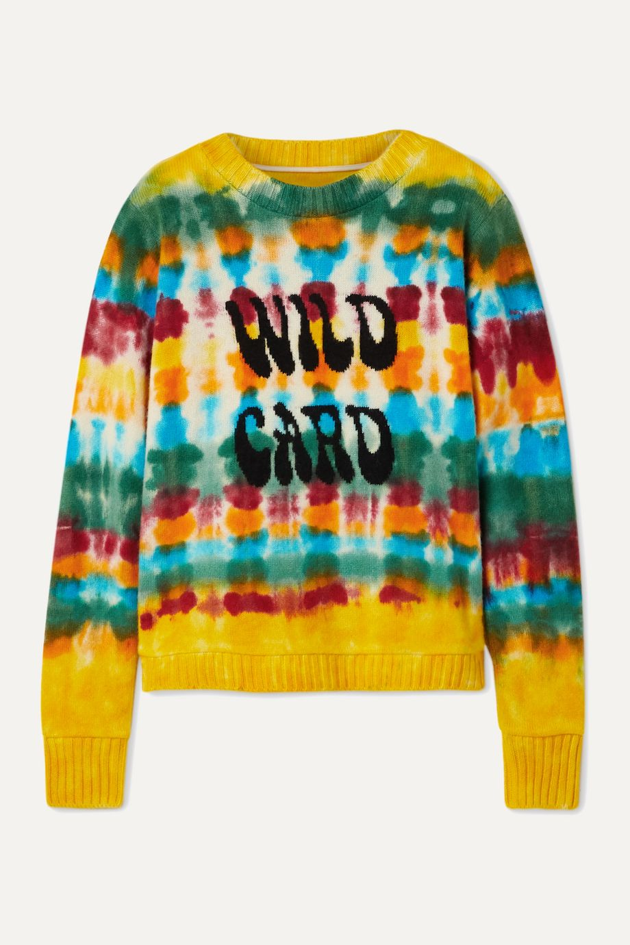 The Elder Statesman Wild Card tie-dyed cashmere sweater