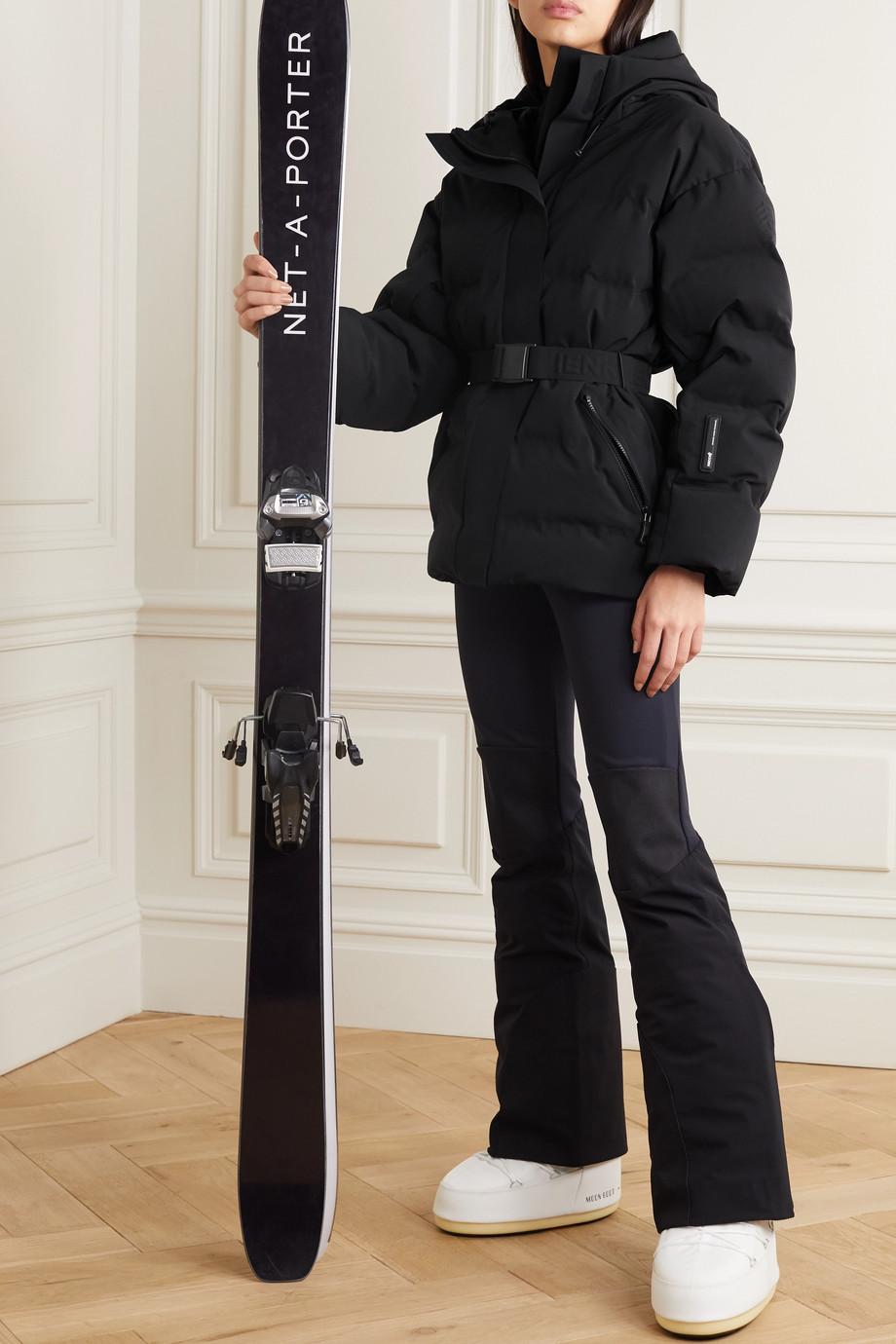 IENKI IENKI Sheena gesteppte Skijacke mit Daunenfüllung, Kapuze und Gürtel